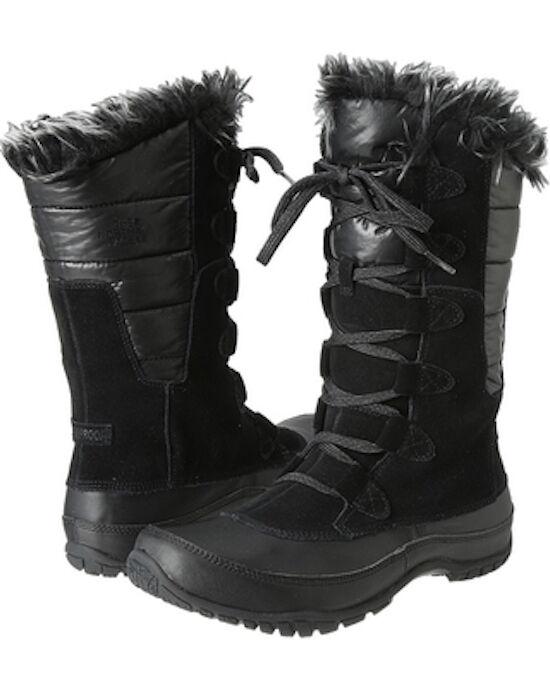 The North Face Women's Nuptse Purna Shiny TNF Black/TNF Medium Black Boot 9.5 B Medium Black/TNF 5c79c3