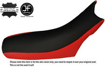 RED & BLACK CUSTOM FITS KTM LC4 640 98-07 DUAL LEATHER SEAT COVER