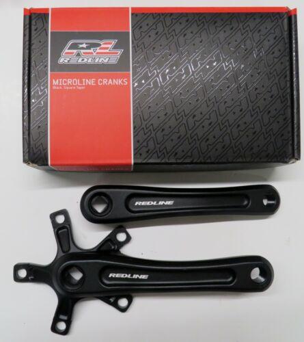 Redline BMX Microline Crank Arms Black  135 150 155 160 165 170mm 5 Bolt 110 mm