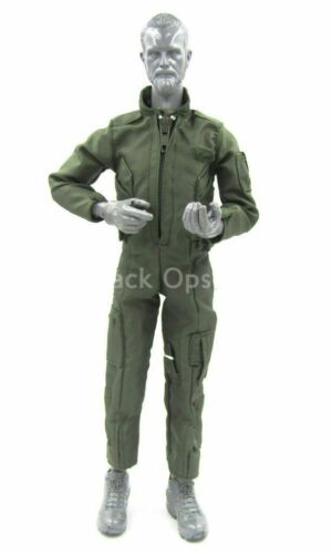 OD Green Jump Suit 1//6 scale toy USMC Force Recon Sniper