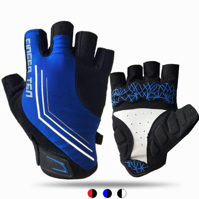 ROCKBROS Halbfinger Handschuhe Fahhradhanschuhe Sommer 5 Farbe Gr S-XL DHL