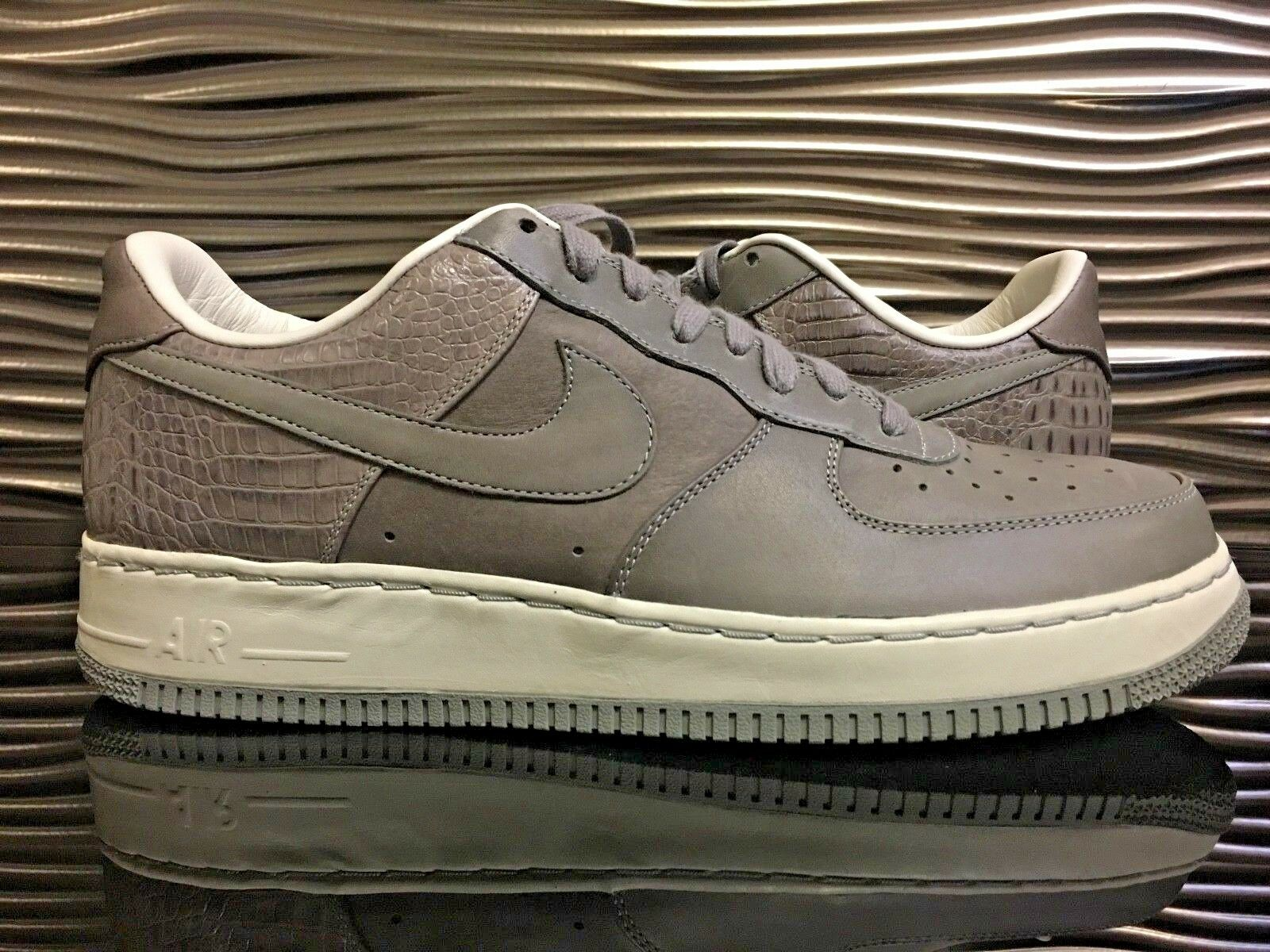 Nike Air Force 1 Low Supreme 07 QK Medium Grey Sail 316133-002 Premium