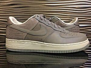 Details about Nike Air Force 1 Low Supreme 07 QK Medium GreySail 316133 002 Premium
