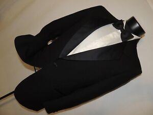 Pierre-Cardin-men-039-s-vintage-classic-1-button-formal-tuxedo-jacket-38-S