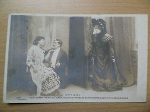 1904-Theatre-Postcard-KITTY-GREY-Evie-Green-Maurice-Edna-May-Stamp
