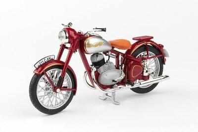 Jawa 250 Perak rojo oscuro 1948