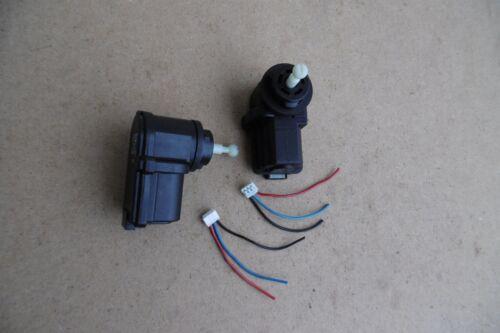 2x Stellmotor VW Lupo LWR Scheinwerfer MES 6X0941295D Leuchtweitenregulierung
