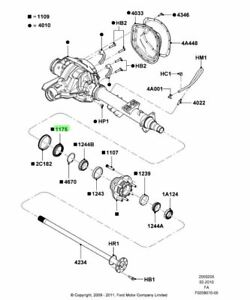 Ford F250 Rear Differential Diagram