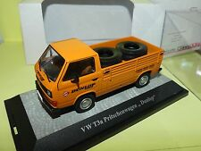 VW COMBI T3a PICK UP DUNLOP Transport de Pneus PREMIUM CLASSIXXS 1:43