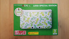 Nintendo 3DS XL Luigi Special Limited Edition Console U.K. PAL NEW & SEALED