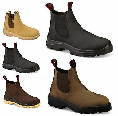 Mens Slip On Dealer Boots Size 6 to 12