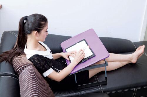 Tragbar Laptop Tischständer Bett Knietablett Ablage Halter Computer Schreibtisch