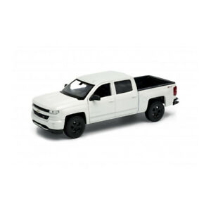 1:24 #24083 WELLY chevrolet silverado-Weiss