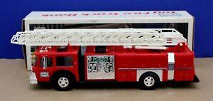 1986-Hess-Fire-Truck-w-Box-Inserts-Lights-amp-Flashers-Tested-LNIB