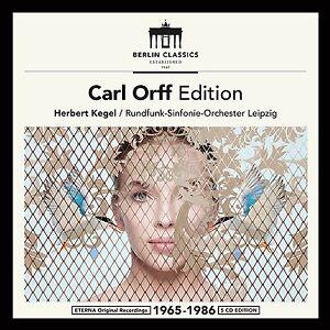 Carl-Orff-Edition-H-Cone-Radio-Symphonie-Orchestre-Leipzig-5-CD-NEUF