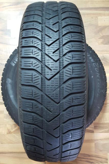 2 x Pirelli Winter 190 Snowcontrol II 195/65 R15 91T M+S (Intr.Nr H1252)