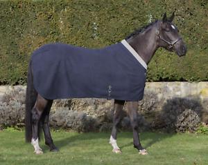 LeMieux Four Seasons Horse Fleece Rug - Navy bluee