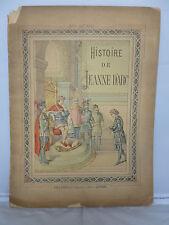 1870s - Histoire de Jeanne D'Arc - Handcolour Plates - French