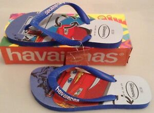 b3ef05a82a42f BLUE HAVAIANAS FLIP FLOPS H. K CARS MALIBU BLUE SIZE UK 3 4 - 35 36 ...