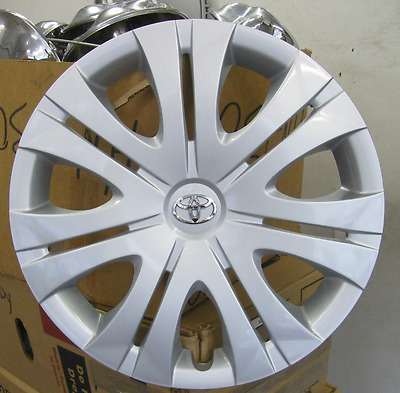 one 2009 2010 Toyota Corolla 16 inch hubcap wheel cover