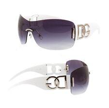 Nuevo DG Eyewear Para hombres Unisex Diseñador de Moda Blanco Cool Shades Gafas de sol