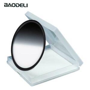 BAODELI 77mm Gray Gradient Graduated Neutral Density GND8 Filter