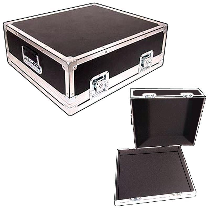 Light Duty ATA Case Recessed Carpet Lined For SOUNDCRAFT SPIRIT POWERSTATION 600