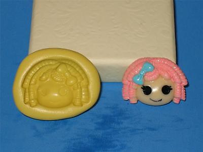 LalaLoopsy Push Mold for Resin Clay Candy Food Safe Silicone A652 Bookscraping