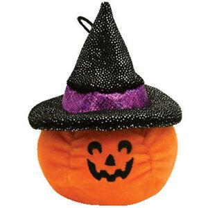 d8a4c61f912 TY Halloweenie Beanie Baby - SCREAM the Pumpkin (2.5 inch) - MWMTs ...