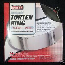 Kaiser Tortenring Kuchenring Backform Form Backring backen Edelstahl 66061