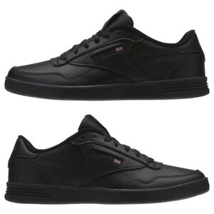 374507e50b2a Men Reebok CLUB MEMT V68166 Black DHG Solid Grey Athletic Sneaker ...