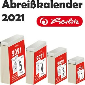 Abreißkalender 2021