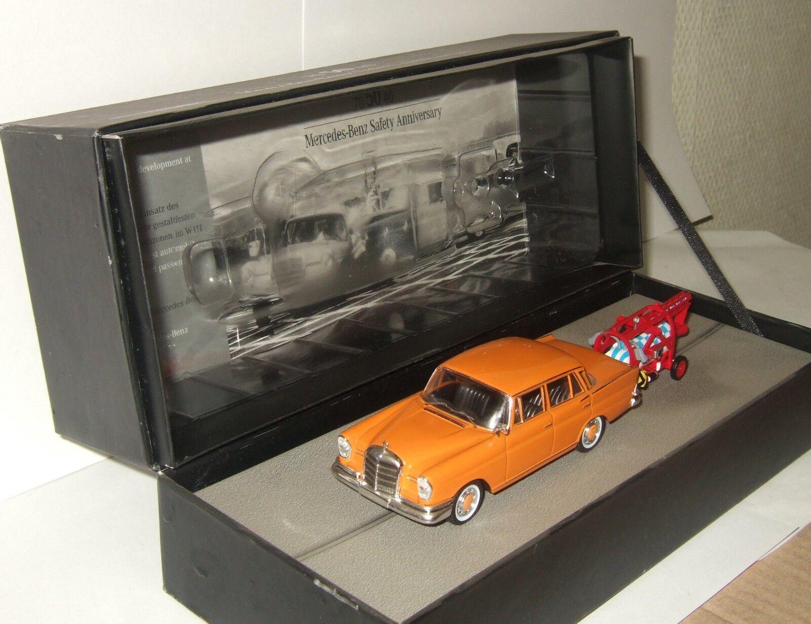 1 43 Ixo Mercedes Benz 220 SE de sécurité de W111 Anniversaire 70 ans rare