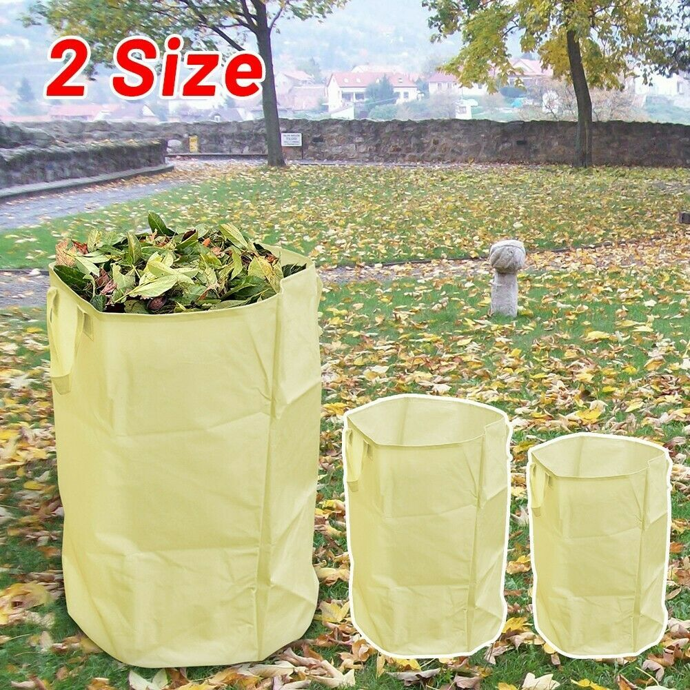 1pcs Bag Leaves Large Leaf Waste Bag Can Capacity Collection Container