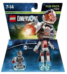 DC-Comics-Cyborg-Cyber-Guard-Lego-Dimensions-Game-50-Pieces-71210-Fun-Pack-New