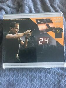 24-SEASONS-1-5-COLLECTOR-039-S-EDITION-DVD-BOX-SET-W-168-PAGE-BOOK-T-SHIRT-NEW