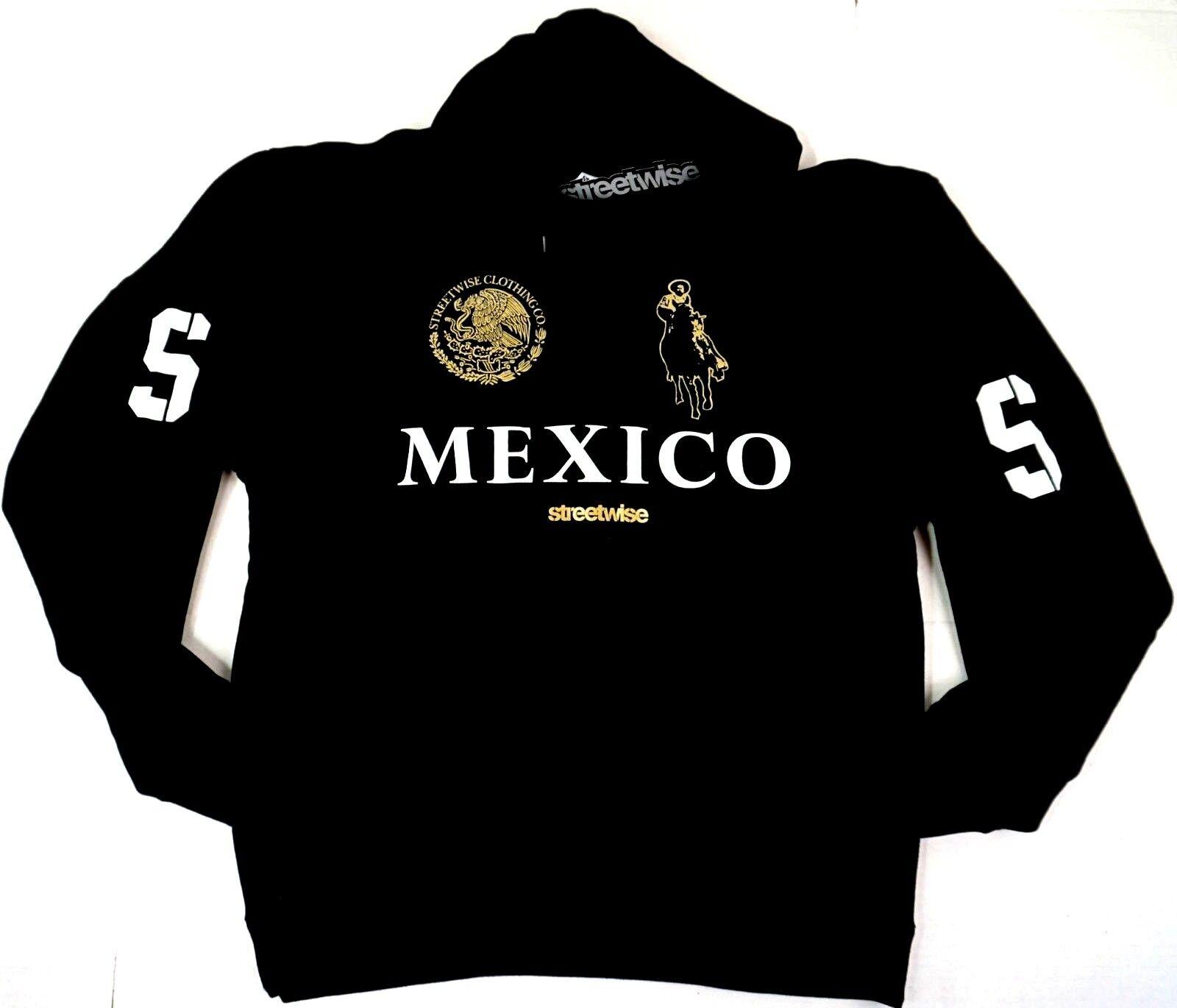 STREETWISE NARCO POLO Hoodie Sweatshirt 100% Cotton Hoody L-3XL NWT
