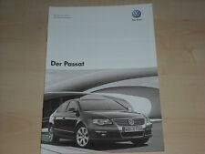 51279) VW Passat - technische Daten & Ausstattungen - Prospekt 10/2007