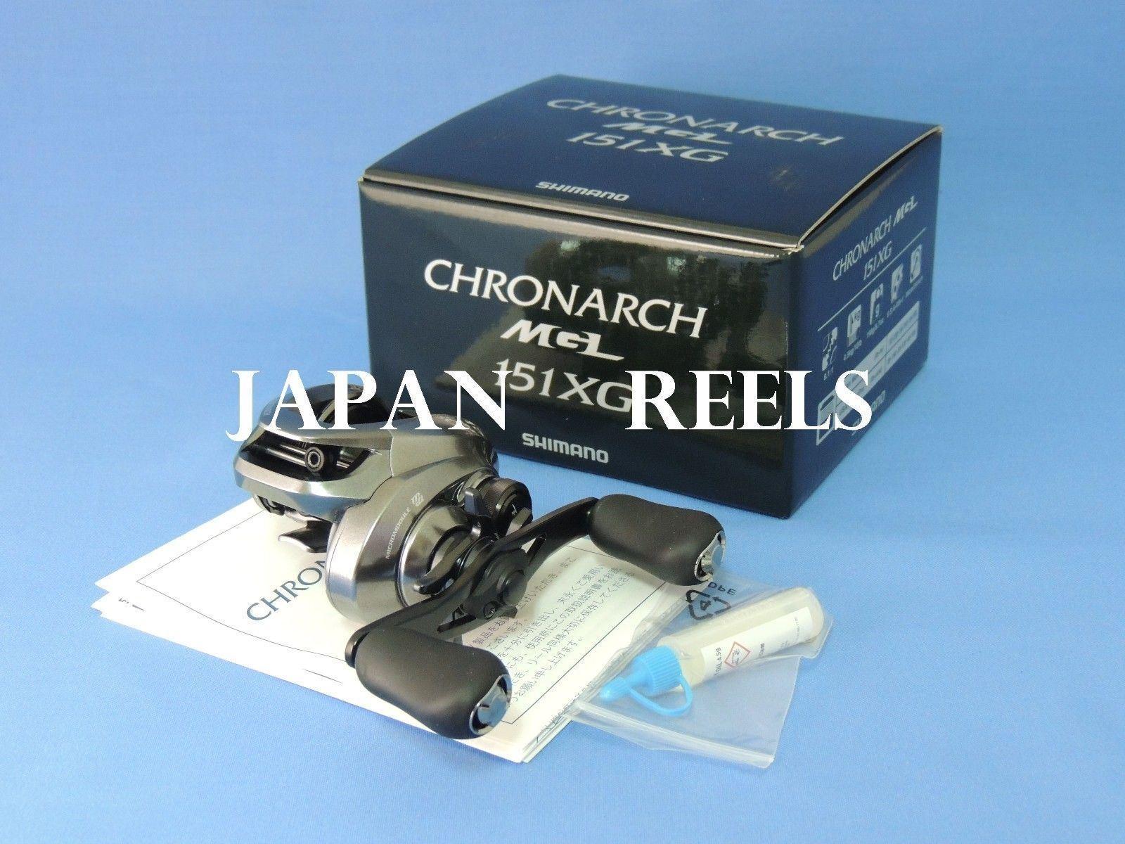 NEW SHIMANO 17 CHRONARCH MGL 151XG 151 XG LEFT HANDLE 1-3 DAYS FAST DELIVERY