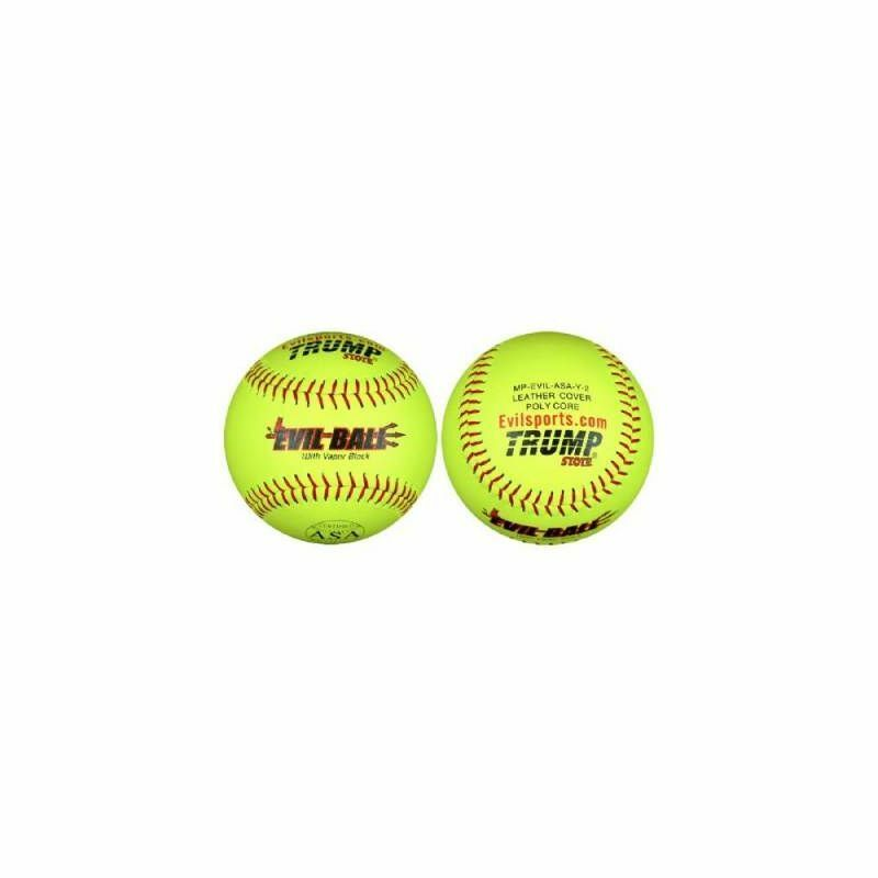 Trump Evil 12 Inch ASA 44 375 Leather Softball (Sold by the Dozen)