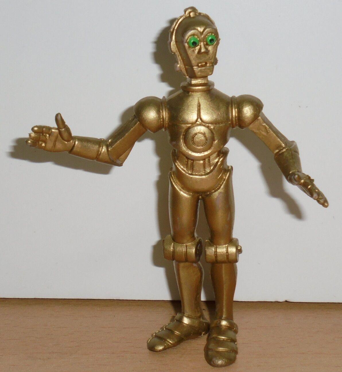 Vintage Star Wars Ewoks & droïdes C-3PO  PVC voituretoon FIGURE COMICS SPAIN 1986 LFL  vente en ligne