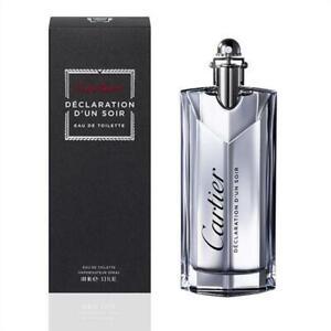 DECLARATION D'UN SOIR by Cartier for men edt Cologne 3.3 oz / 3.4 oz New in Box