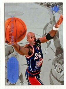nba UPPER DECK UD3 aerial artist # 59 CLYDE DREXLER ROCKETS BASKETBALL CARD