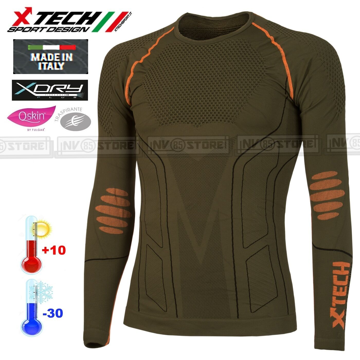 Jersey XTECH Technik Thermal X-TECH EVOLUTION -30° thermal Hemd Made in