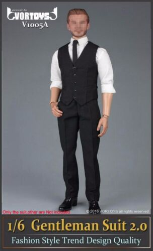 "1//6 Scale Gentleman Suit 2.0 Fashion Men Clothes Set For 12/"" Male Body Hot Toys"