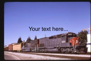 o91 Orig. Slide Southern Pacific 8254 8267 at Oakland, CA 2000