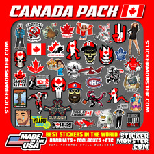 Canada Pack Hard Hat Stickers 40 Hardhat Sticker Amp Decals Canadian Canuck