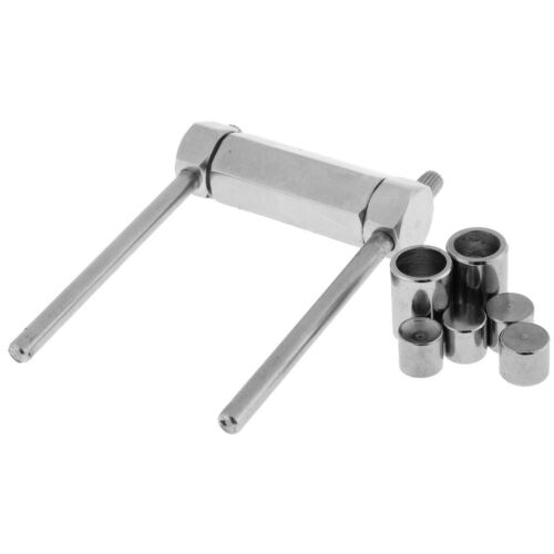 1Pc Stainless Steel Billiard Stick Pool Cue Tip Press Shaping Tool Shaper