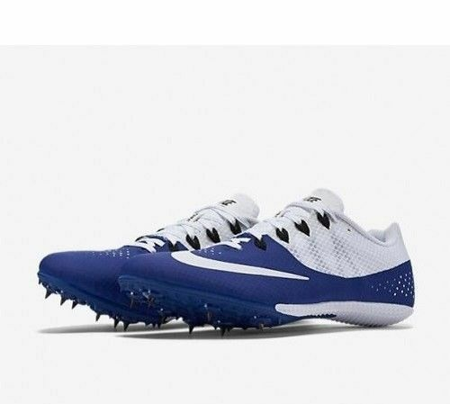 Nike Zoom Rival S 8 Men's Racing Spikes Deep Royal Blue/Wht/Blk 806554 - NEW