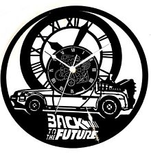 OROLOGIO DA PARETE  -  IN VINILE  FILM - BACK TO THE FUTURE - RITORNO AL FUTURO
